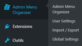 MenuOrganizer